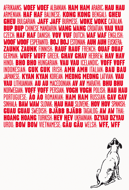 how do you say woof woof in Finnish?