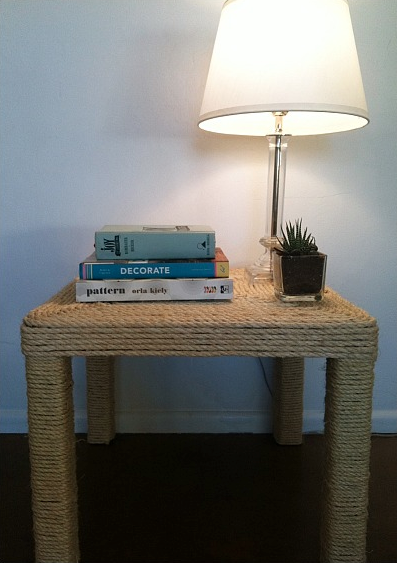 Sisal Rope Table from 2012