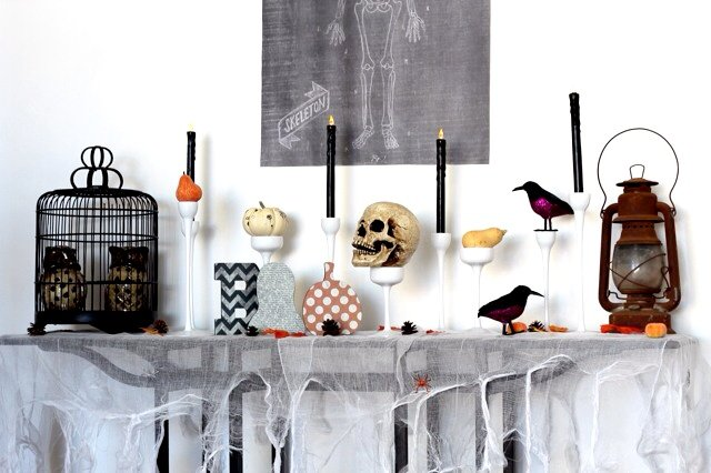 Spooky Last Minute Halloween Decor