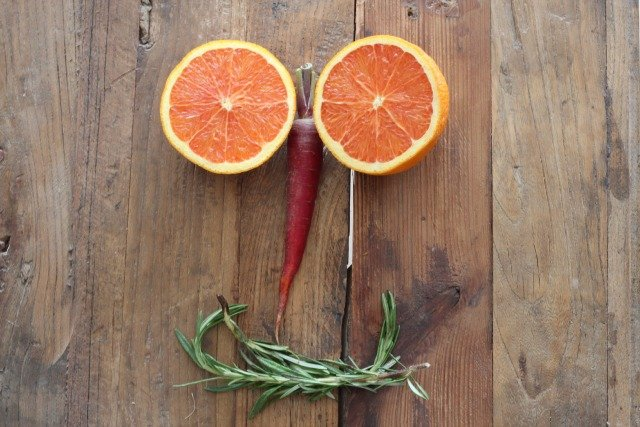Orange Carrot Smile www.sparklelivingblog.com