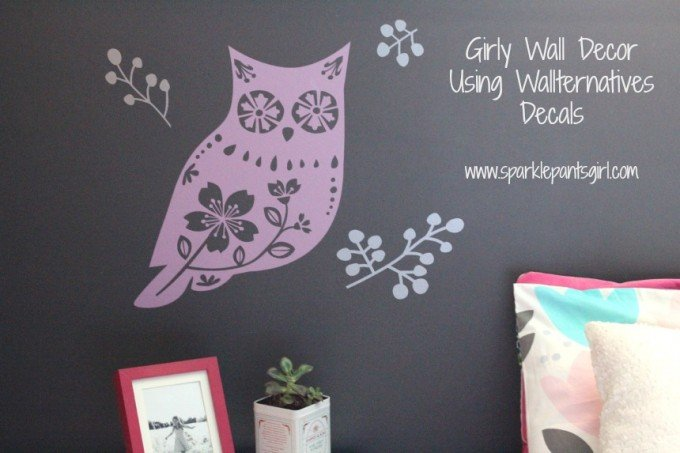 Girly Forest Animal Wall Decor
