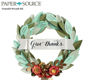 Grateful Wreath Kit - PaperSource