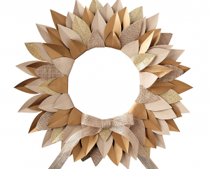 Burlap Wreath Kit - PaperSource