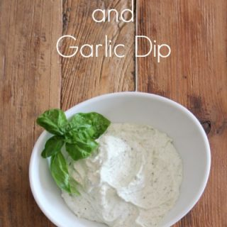 Fresh Basil and Garlic Dip