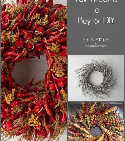 20 Amazing Fall Wreaths – To Buy or DIY