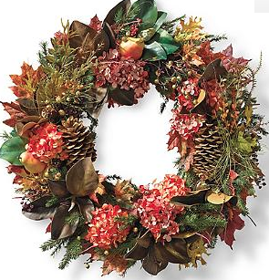 Autumn Mix Wreath - Frontgate