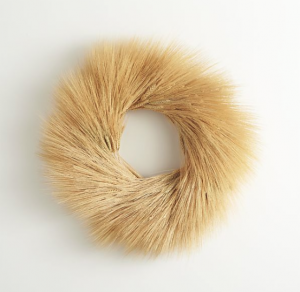 Wheat Wreath - Crate and Barrel