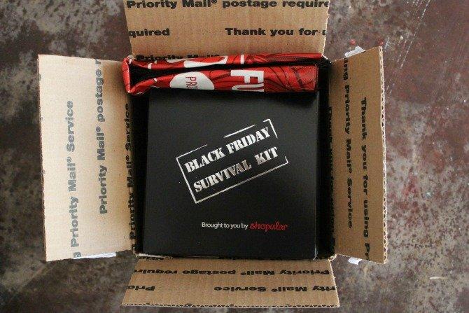 Black Friday Survival Kit with Shopular
