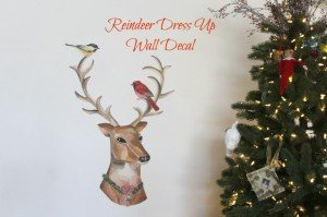 Dress Up Reindeer from Wallternatives