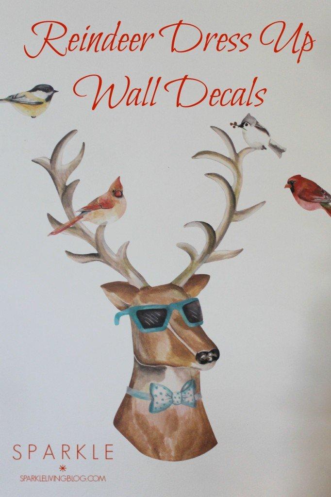 Dress Up Reindeer from Wallternatives