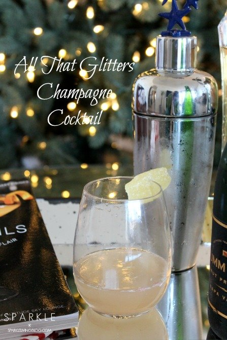 All That Glitters Champagne Cocktail