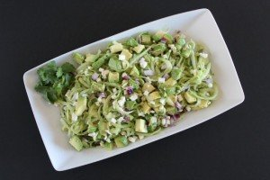 Cucumber and Avocado Salad | sparklelivingblog.com