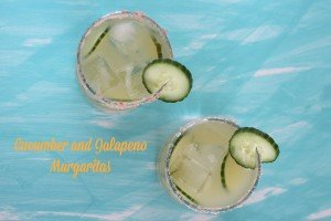 Cucumber and Jalapeño Margaritas