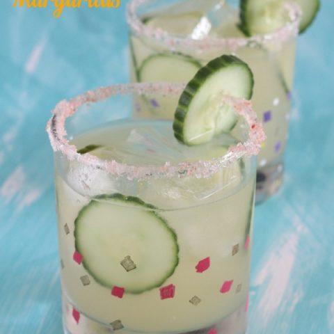 Cucumber and Jalapeño Margaritas