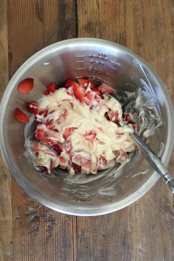 how to make yogurt into ice cream