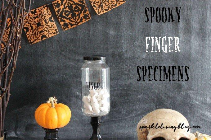 Spooky Finger Specimens