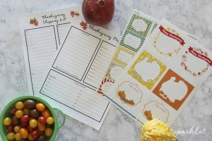 5 things you can do now to make your Thanksgiving meal a success! Includes free printables!