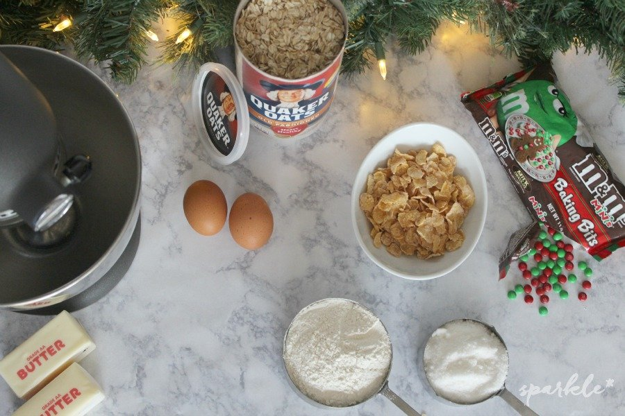 These cookies are soft, chewy and crunchy all at the same time! Make these holiday ranger cookies for your holiday treats!