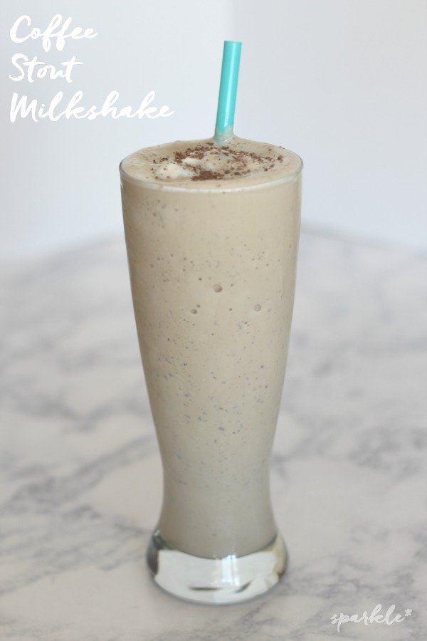 Coffee flavored stout in a milkshake! Here is a recipe for a surprisingly delicious treat!
