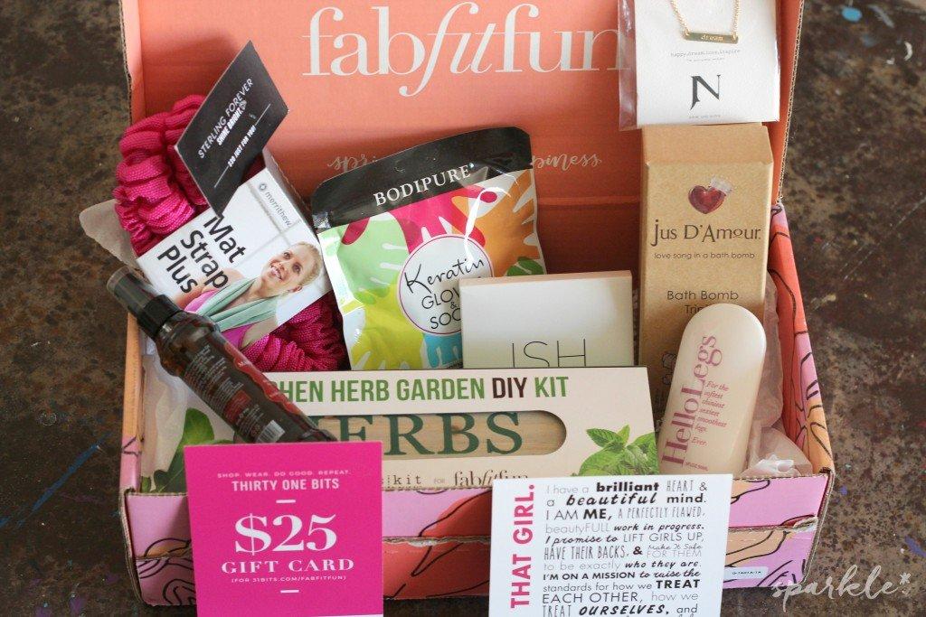 FabFitFun Spring 2016 Subscription Box
