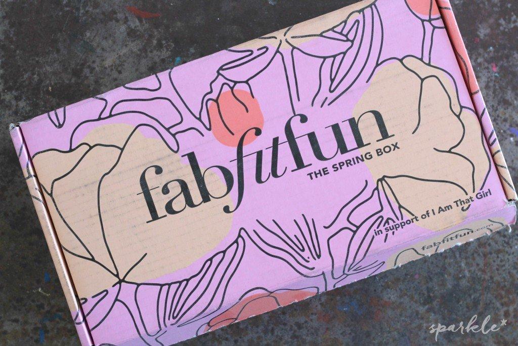 FabFitFun Spring 2016 Box Review