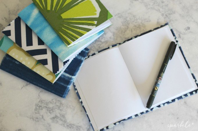 Fabric Covered Mini Notebooks