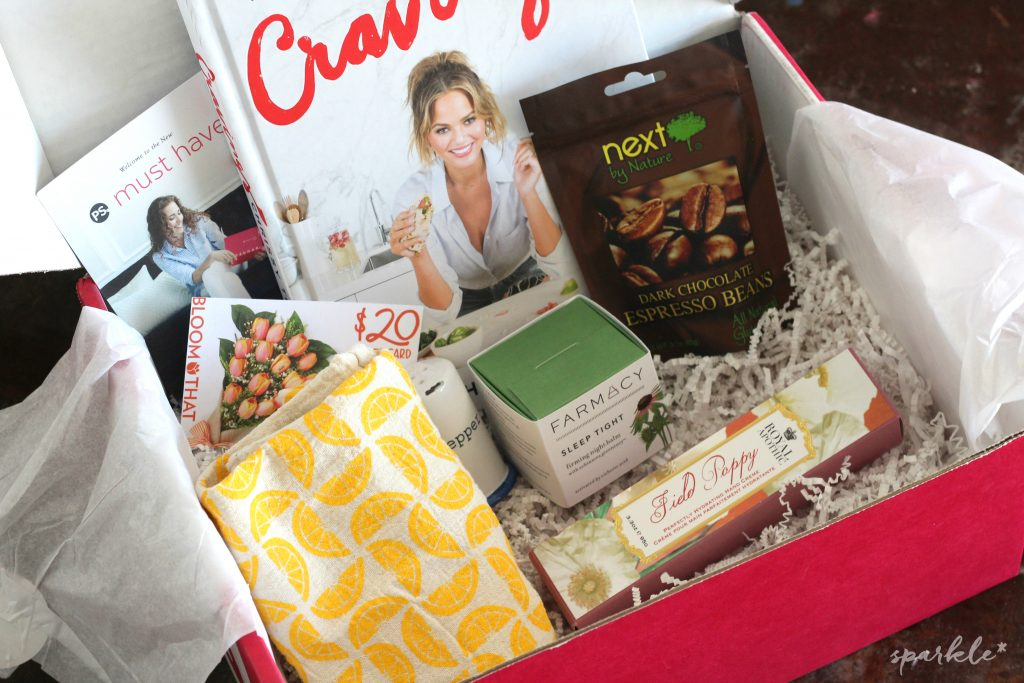 The April PopSugar Must Have Box is so fun! I adore this cookbook and the skin balm is awesome!