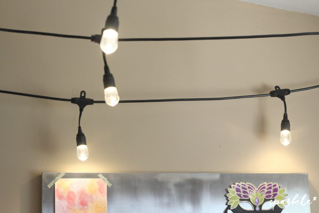 #EnbrightenLife with Enbrighten Cafe Lights. Used indoors they create an amazing ambience!