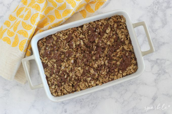 Easy No Bake Oatmeal Chocolate Peanut Butter Bars
