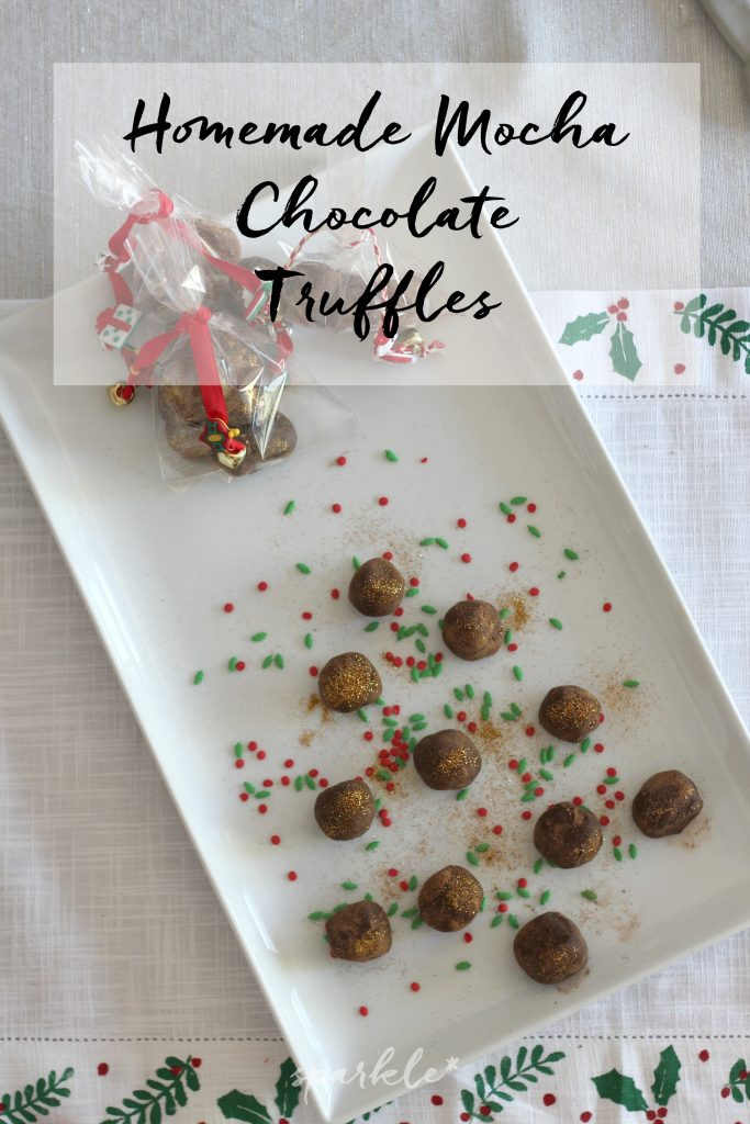 These mocha chocolate truffles melt in your mouth and are the easiest confection to make. You are going to love them!