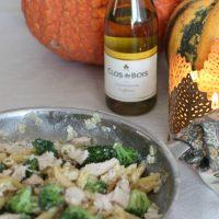 Creamy Roasted Garlic and Broccoli Penne Pasta