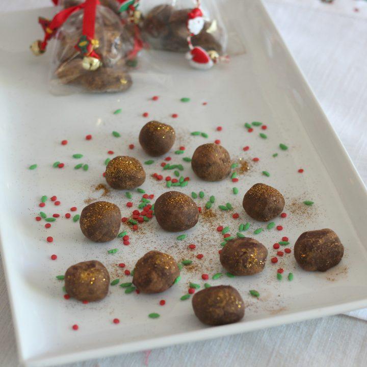 Homemade Mocha Chocolate Truffles