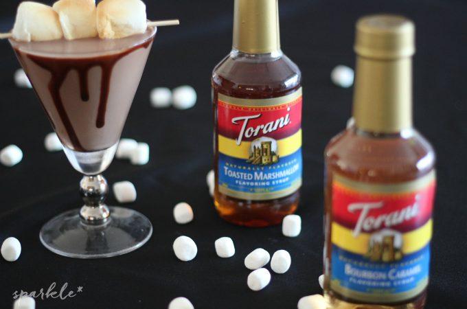 Toasted Marshmallow Hot Chocolate Martini