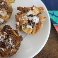 Cinnamon French Toast Breakfast Muffins
