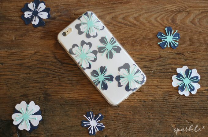 DIY Floral Phone Case