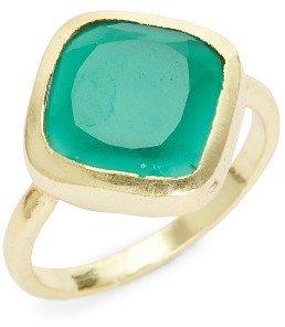 Karen London Penny Quartz Ring