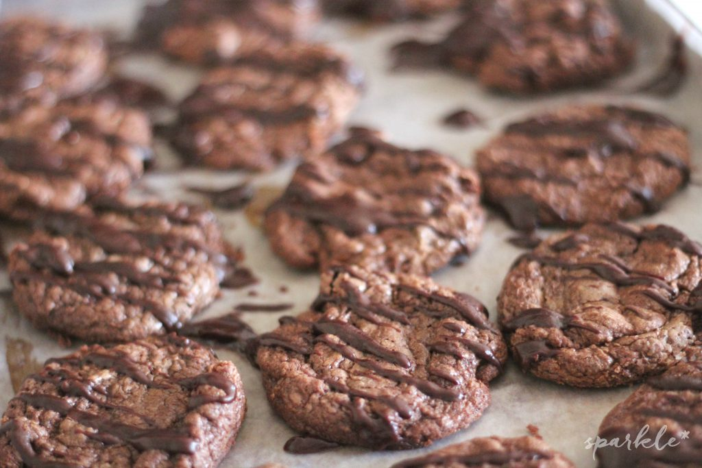 Chocolate is put into these cookies four different times, yet they are light, airy and so delicious!