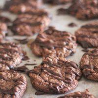 Chocolate, Chocolate, Chocolate Cookies