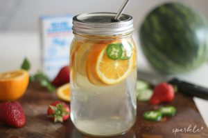 Three favorite fruit infused water recipes! Perfectly refreshing for summer hydration!