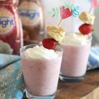 Strawberry Shortcake Frappe