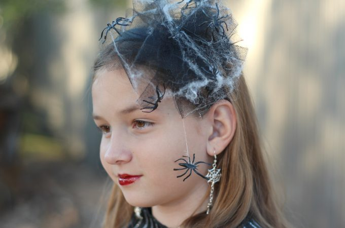 Creepy Spider Web Headband