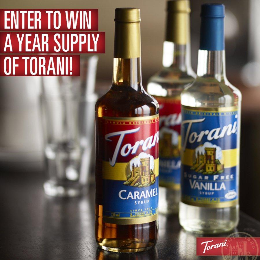 Year supply of Torani
