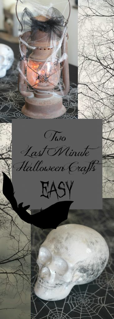 Two EASY last minute Halloween crafts! Make them tonight!