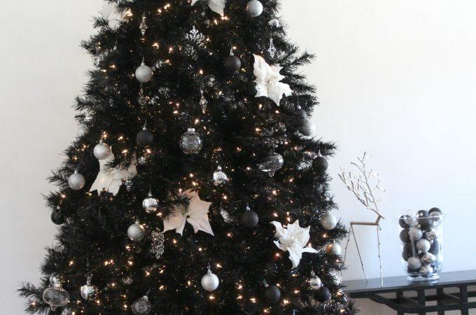 Treetopia's Merry Chic-mas Classy Black Christmas Tree