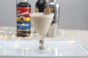 Gingerbread Cookie Cocktail