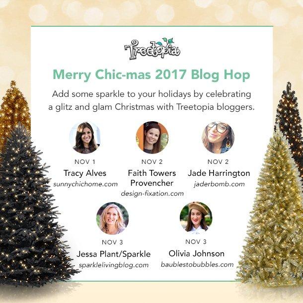 Treetopia's Merry Chic-mas Blog Hop