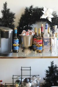 Christmas Bar Cart Essentials