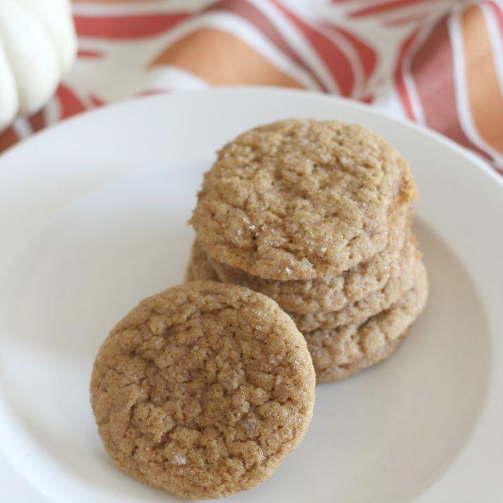 Pumpkin snickerdoodle cookies!
