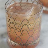 Ruby Red Grapefruit, Tequila and Soda