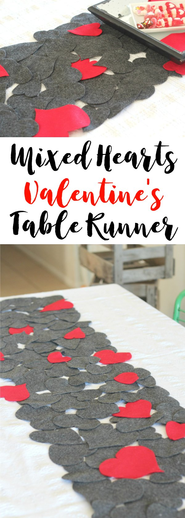 Mixed Hearts Valentine S Day Table Runner Sparkle Living Blog